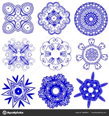Geometrické Tvary Tetování Stock Fotografie Jimny 145399257