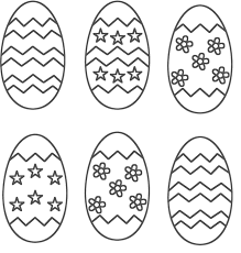 Small Picture Easter Eggs Coloring Pages coloringsuitecom