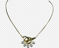 gold necklace costume jewelry art