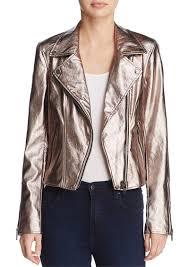 blanknyc metallic faux leather moto jacket 100 exclusive
