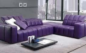 china purple leather corner sofa for