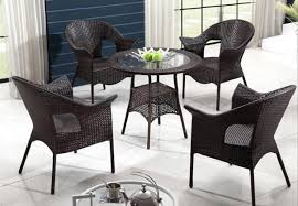 garden table and chair sets india. freeshipping imitation rattan outdoor furniture cany chair tea table set the balcony chairs and tables 5pcs garden sets india i