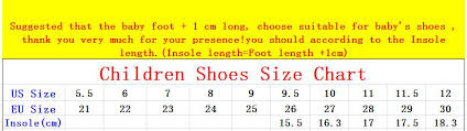 Baby Shoe Chart Us Us 10 06 22 Off Spring Autumn Winter New Kids Sneakers Baby Children Boots Korean Star Boys Girls Casual Sport Shoes Size 26 30 In Boots From Mother
