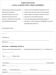 Hr Contract Templates New Simple Service Contract Template Simple Service Agreement Contract