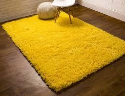 super area rugs cloud microfiber ultra soft shag light yellow area