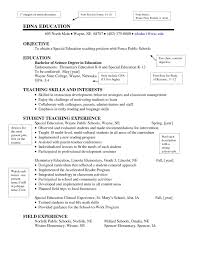 Elementary Teacher Resume Objective Examples | Gentileforda.com