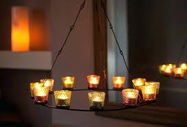 tea light chandeliers bell tent tea light chandelier