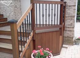 deck railing designs awesome love this ipe wood the too backyard intended for 2