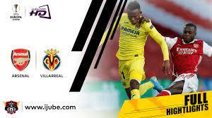 ไฮไลท์ฟุตบอล ยูฟ่ายูโรปาลีก 2020-21 อาร์เซนอล vs บียาร์