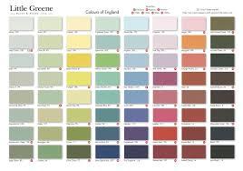 Little Greene Colour Chart