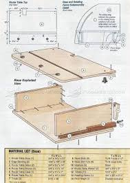 router table top plans. horizontal router table plans top