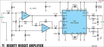 tda1562q audio power amplifier 36 watt electronic circuit tda1562q audio power amplifier 36 watt
