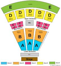 Sprint Pavilion Tickets Sprint Pavilion Seating Chart