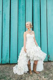 164 best wedding attire images on pinterest wedding dressses Boots To Wedding country ruffled wedding dress with cowgirl boots how cute! see more fall wedding ideas boots to a wedding
