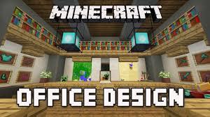 minecraft office ideas. Minecraft Tutorial: How To Build A Modern House Ep.8 (Cool Office Furniture Design Ideas) | Stream Ideas