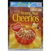 general mills cheerios honey nut nutrition
