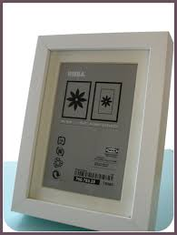 make an ikea ribba frame a shadow box