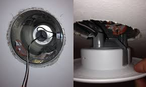recessed lighting without can metal material black white wires ceiling installation circle model replacement electricity