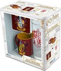 Набор Harry Potter: Gryffindor (<b>мини кружка</b> + подставка + стакан ...