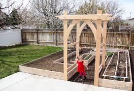 diy garden arbor plans