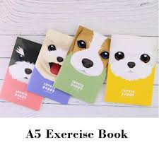 2018 a5 exercise book for students lovely puppy note books cartoon s caderno escolar 210 142mm 44 sheets 88 pages from livegold 24 85 dhgate