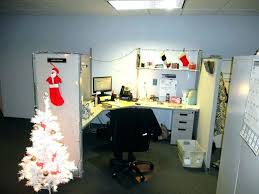christmas office decor. Christmas Cubicle Decorating Ideas Office Holiday  Wonderful Contest Layout Decor