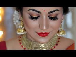 traditional diwali look 2018 indian festival makeup tutorial