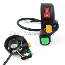 popular 7 wire turn signal switch buy cheap 7 wire turn signal 7 8inch universal handlebar switch motorcycle scooter dirt atv quad handle horn switch headlight turn