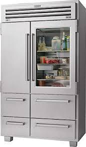 A Sub-Zero refrigerator