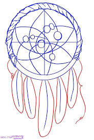How To Draw A Dream Catcher Interesting Simple Dream Catcher Simple Drawing How To Draw A Step 77