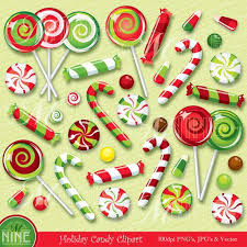 christmas lollipop clip art. Delighful Lollipop HOLIDAY Clip Art CHRISTMAS CANDY Clipart Illustrations Vector Art Instant  Download Lollipops Candy Canes Sweets Icons Graphics In Christmas Lollipop