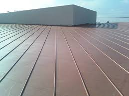 ribbed roofing panels at los angeles city college simulated metal