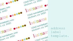 Print Address Labels Free Printable Return Address Labels Just Add Your Name And