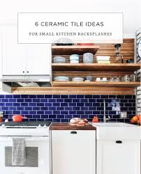 Ceramic Tile Designs Kitchen Backsplashes 6 Ceramic Tile Backsplash Ideas For Small Kitchens Mercury