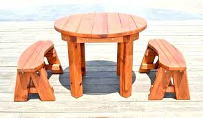 patio round wood patio table wooden garden tables outdoor furniture amusing