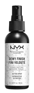 nyx professional makeup make up setting spray dewy finish 2 03 fl oz