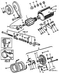 generator parts for ford 9n 2n tractors 1939 1947 generator assembly related parts 2 brush ford 9n 2n 1939 1947