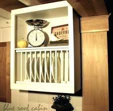 plate rack cabinet kitchen plate rack cabinet s kitchen plate holder cabinet kitchen cabinet plate rack plans