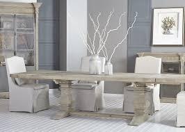 trestle base dining table