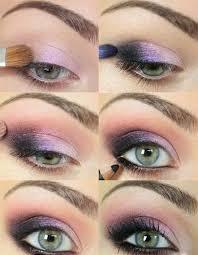 plum y eye makeup tutorial