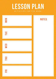 Weekly Lesson Plan Templates Customize 1 304 Lesson Plan Templates Online Canva