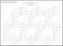 50 Printable Wedding Seating Chart Template Ufreeonline