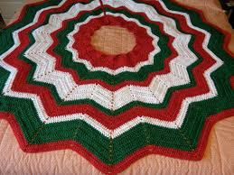 Crochet Tree Skirt Pattern