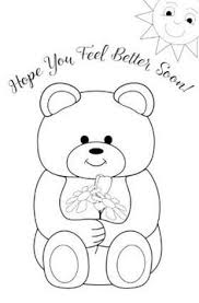 Top 25 Free Printable Get Well Soon Coloring Pages Online Coloring