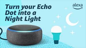 Turn your Echo Dot into a Night Light - YouTube