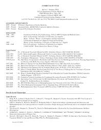 Gallery Of Psychology Resume Templates