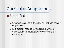 Ppt Adapting The Curriculum Powerpoint Presentation Id 5529856