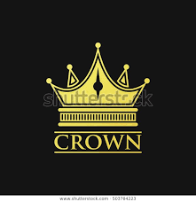 Logo With Crown Crown Logo Stock Vector Royalty Free 503784223