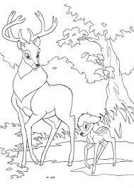 Bambi En Zijn Vader Kleurplaat Jouwkleurplaten