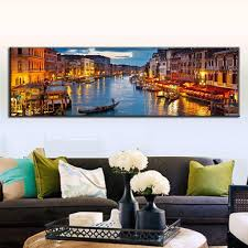 Large Living Room Paintings Canvas Pictures For Living Room Handpainted Modern Abstract Blue